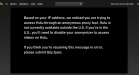 Hulu Blocks VPN Users… Then How?